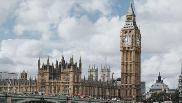 Центр Лондона и биг бен